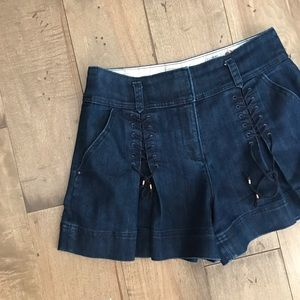 Rare Anthropologie Leifsdottir Shorts Denim Jean 6